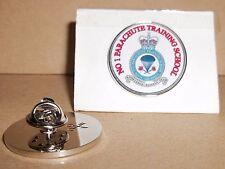 H M Armed  Forces Veteran No 1 Parachute training school pin badge