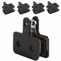 4 Pairs Black Bicycle Cycling Resin Disc Brake Pads Fit for Shimano M375 M446 DD