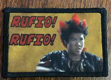 Peter Pan Movie RUFIO Morale Patch Tactical Military Army Hook Flag Badge USA