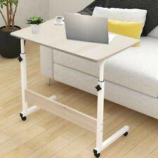 Adjustable Liftable laptop mobile bedside side end table  PC Computer Desk~ UK