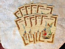 """NEW """"GUARDIAN ANGEL"""" Gold Imprinted Prayer Fold out cards pkg of 25 pcs ****"""