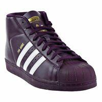 Adidas Men's Originals Pro Model Basketball Shoes Purple/White Size 12