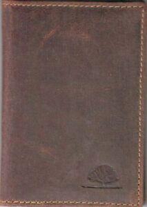 Greenburry Vintage Ausweismappe Kartenetui ca.9x12x1cm braun Leder *!bestprice!*