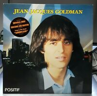 Vinyle 33 tours Jean-Jacques Goldman (1984)   Positif  Epic  EPC 25852  EX+/EX+