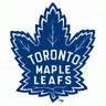 Toronto Maple Leafs NHL Team Logo Color Printed Decal Sticker Car Window Wall
