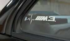 M3 Is in my Blood Bumper Window Vinyl Decal Sticker BMW M E36 E90 E30 EURO