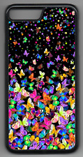 BUTTERFLY Phone Case Cover Hard Back iPhone 4 5 6 7 8 Plus X comp (I)