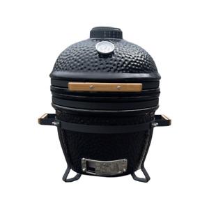 "Brockworth Kamado Style Ceramic BBQ  - 16"" - Black, Blue or Red - Small Size"