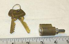 Sargent locking cylinder with 2 working keys - tested good