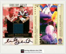 2003 Select NRL XL Game Won Signature Redemption JCS3 Luke Ricketson-Roosters