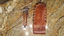 waltco safety sheath knife, vintage in excellent shape, fishing model