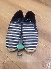 mens canvas slip on Espadrilles shoes size 9