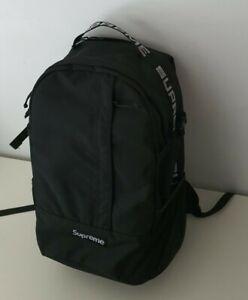 Rare SS18 Supreme black backpack Cordura Fabric box logo