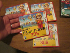 Super Mario Maker Nintendo 3DS BRAND NEW FACTORY SEALED AUTHENTIC US EDITION