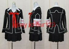 Vampire Knight Day Class Girls Uniform Cosplay Costume