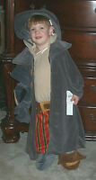 NWT! DISNEY Store Treasure Planet JOHN SILVER Fancy Dress Kids COSTUME XXS 2/3