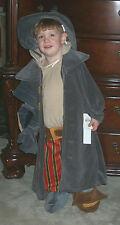 NWT! DISNEY Store Treasure Planet JOHN SILVER Fancy Dress Kids COSTUME XXS 2/3