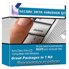Data Shredding & Erasing Kit - Completely Wipe/Erase/Delete Hard Drives Fast