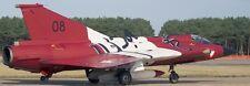 J-35 Draken Austria Air Force Saab Airplane Mahogany Kiln Wood Model Small New