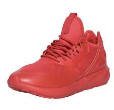 New Adidas Originals Tubular Runner Sneakers Red Mens Size US 11