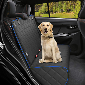 Active Pets Bench Dog Car Seat Cover for Back Seat, Waterproof Dog Seat Covers f