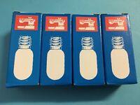 4 Stück Glühbirne- Lampe für Nähmaschinen Schraubfassung E14 220v 15W