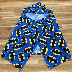 Boys Batman Beach Bath Towel Wrap Kids Age 2 - 3 Years