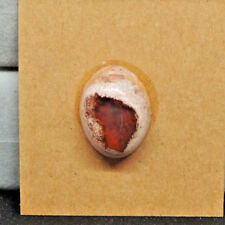 Mexican Fire Opal Cabochon 18x14mm with 8mm dome (14558)