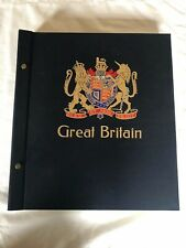 Stanley Gibbons Davo 2 Peg Stamp Album Great Britain with sleeve