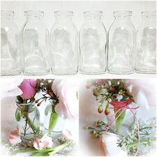 12 Dekoflaschen Glasflaschen H10,5cm Glasfläschchen Tischvase Vase Väschen Vasen
