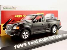 1999 Ford F-150 SVT Lightning  Pick-up schwarz  / Greenlight 1:43