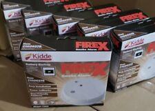 Kidde i12040 AC - Pack of 6 Hardwired Interconnect Smoke Alarm with Hush™