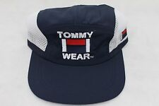 Vintage 90s Tommy Wear 5 Panel Strapback Hat Cap Polo Sport Hip Hop