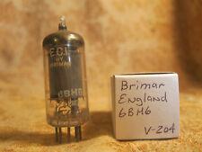 Vintage Single Brimar 6Bh6 England Great Britain Test Nos