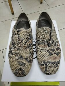 Toms Men's Snake Shoes Limited Pattern Edition Rare Classic Slip-on 9.5