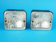 2 x AJBA Reverse / Reversing Lamp Light 12v Flush Surface Mounted FR30