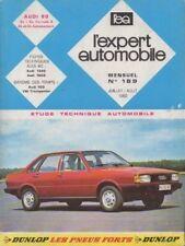 Revue Technique Automobile - Audi 80 - Essence - N° 189 - Ed Juillet /Aout 1982