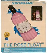 "Swimline Inflatable Rose' Float Swimming Pool Float Pink 94 X 28"" New In Box"