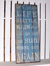 METAL SIGN INTO EVERY LIFE ...INSPIRATIONAL PLAQUE WALL HANGING GREAT GIFT