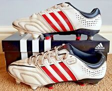 Adidas adipure 11Pro SG * Version Pro * Running Blanc/Rouge coquelicot/noir