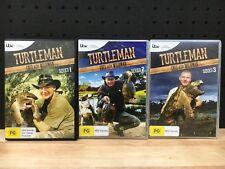 TURTLEMAN CALL OF THE WILDMAN SERIES 1, 2,AND 3 DVD'S - LIKE NEW