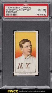1909-11 T206 Christy Mathewson PORTRAIT PSA 6 EXMT