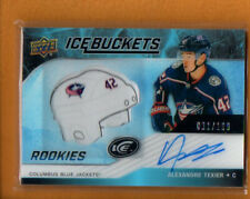 Alexandre Texier 2019-20 UD Ice Hockey Buckets Rookies Autographs Rc Auto /199