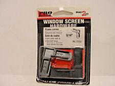 "Prime-Line Pro Repair 5/16"" Window Screen Hardware Frame Corner, Qty 4, PL-7728"