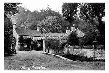 pt1825 - Stoney Middleton , Derbyshire - photograph 6x4
