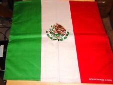 BANDANNA MEXICAN MEXICO FLAG ( SET OF 3 )