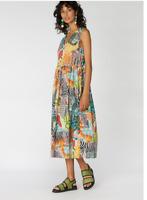 🐿🌿🌴🦓🐅NEW  Gorman x Camilla Perkins  Zebra Tank Cotton Dress Size 14/16