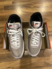 Nike Mens Air Tailwind 79 Running Shoes Pumice White Black Team Orange Size 10