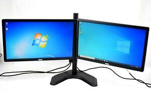 "Dell P2012Ht 20"" LCD VGA DVI Dual Monitor Combo Grade B"