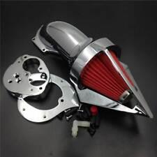 Cone Spike Air Cleaner For 2000-2012 Kawasaki Vulcan VN 1500 1600 Classic Chrome
